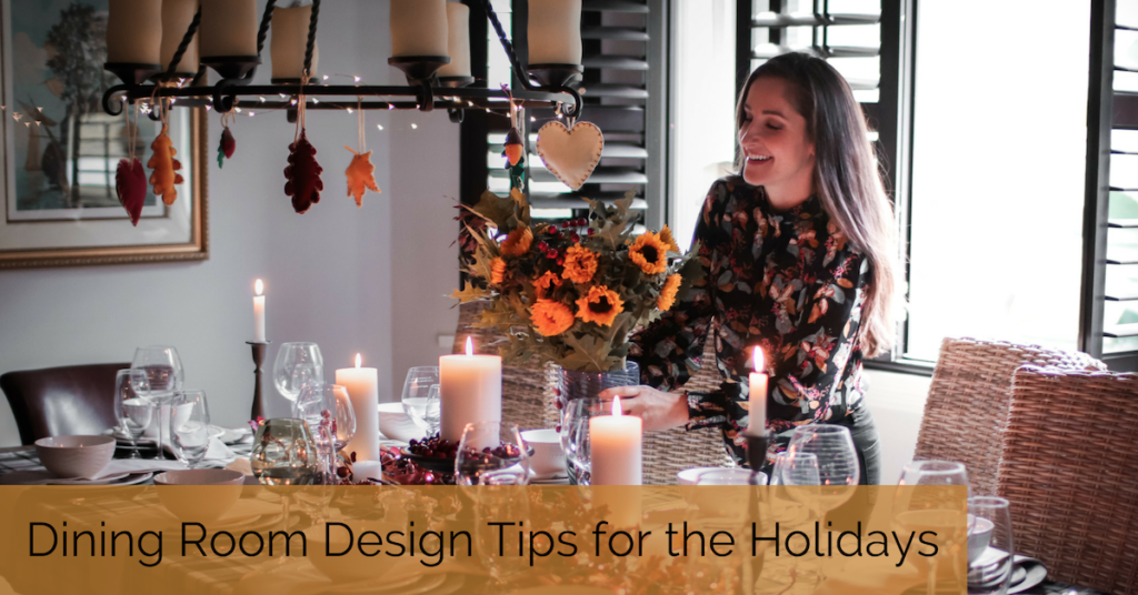 Explore easy ways to decorate your dining room for the holidays